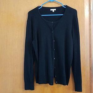 EUC Croft & Barrow XL classic button down sweater